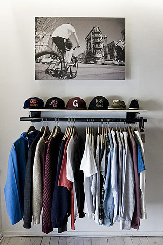 10 clothing storage solutions perfect for every space No closet hanging solutions